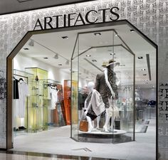 ARTIFACTS store at Breeze Centre by MW Design, Taiwan