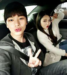 Sungjae And Joy, Ulzzang Kids, We Get Married, Yook Sungjae, Red Velvet Joy, Park Sooyoung, I Hate You, Tv Shows, Fandom