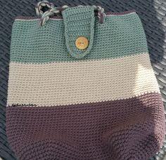 Tas oma 5 Crochet Clothes, Crochet Bags, Chrochet, Coin Purse, Reusable Tote Bags, Wallet, Knitting, Pattern, Handmade