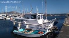 vendo o #permuto con #gommone barca di 9,50 mt tutta #accessoriata #  autopilota gps #ecoscandaglio tv dvd frigo #pannelli #solari ecc ... #annunci #nautica #barche #ilnavigatore