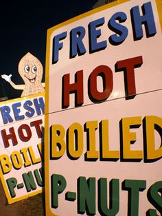 Any boiled peanut stand.  My, oh my, I just do not get it.
