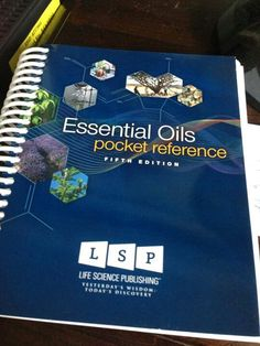 Essential Oils Desk Reference Book for Young Living Essential Oils #essentialoils