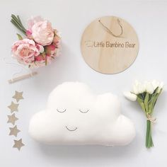 Check out our cloud cushion selection for the very best in unique or custom, handmade pieces from our shops. Cloud Cushion, Star Cushion, Cloud Pillow, Baby Pillows, Kids Pillows, White Pillows, White Nursery, Star Nursery, Nursery Decor