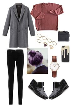 """""""city vibes #4"""" by irdinamahirah on Polyvore featuring AG Adriano Goldschmied, 3.1 Phillip Lim, Daniel Wellington, Forever 21, Zero Gravity and Herschel Supply Co."""