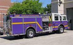 purple fire truck!