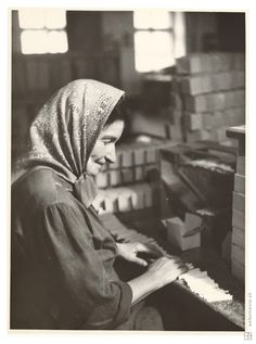 Sergej Protopopov: Práca v tabačiarni 2.:1935 - 1936