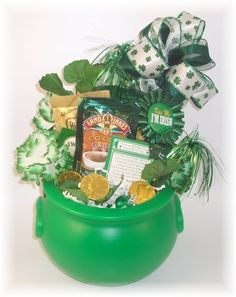 St. Patrick's Day Gift Basket 2009- Delivery Baltimore Maryland