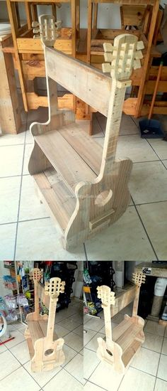 Stylish Wooden Pallets Rack Ideas