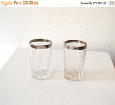 Fall Sale 1950's Mid Century Set of 2 Mad by ZenVintageCollection