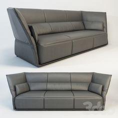 Poltrona Frau Almo sofa 3 seater