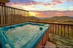 Pigeon Forge Cabin - A Safari Sunrise - 1 Bedroom - Sleeps 4