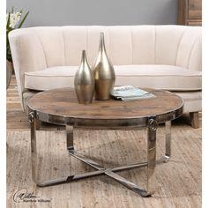 Berdine Wooden Coffee Table, ,