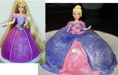 Fondant barbie cake melts to a fon-don't #pinterestfail