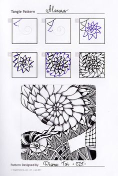 zentangle tutorial: