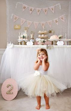 Gold & Sparkly Fairytale Princess Party