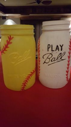 Mason Jars- Softball/ Baseball