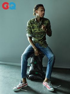 Wiz Khalifa Poses for GQ, Talks New Music & Weed Business