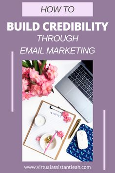 To be successful at email marketing, your emails need to be relevant, personalized, and engaging for them to build trust and credibility. Email Marketing Strategy, Marketing Goals, Marketing Training, Marketing Ideas, Media Marketing, Online Marketing, Successful Online Businesses, Email List, Virtual Assistant