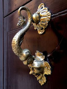 Details Of Unique Door Knocker