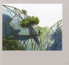 'Tree' House concept by visionary Belgian architect Luc Schuiten