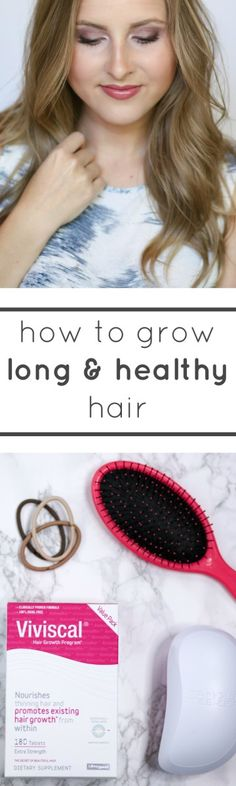 Want long hair that's healthy and thick? Today I'm sharing all of my top tips for hair growth + a review of my experience with Viviscal Extra Strength!