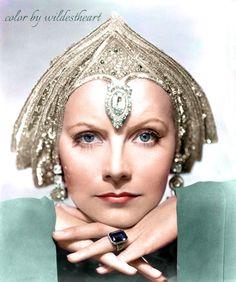"""Greta Garbo in """"Mata Hari"""" 1931"""