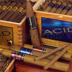 Drew Estate Acid Cigars - I've had several of these...of the flavored cigars these are the bomb!!!