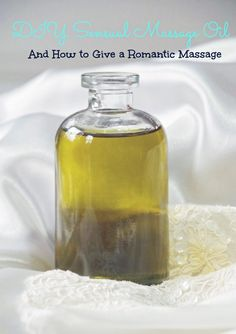 DIY Sensual Massage Oil And How to Give a Massage - Suburbia Unwrapped