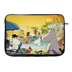 iPad- case featuring Moomins at the Riviera. 14,99€