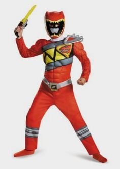 Disguise Red Ranger Dino Charge Classic Muscle Costume, Amazon Kids http://amzn.to/2dS7p5I