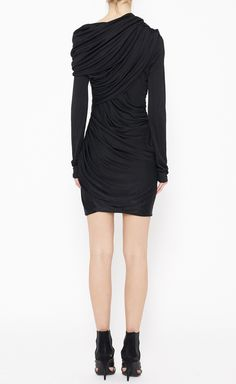 Alexander Wang Black Dress   VAUNTE