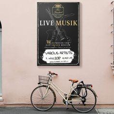Live Musik Poster Grafik Design, Lettering, Poster, Drawing Letters, Billboard, Brush Lettering