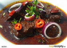 Myslíme si, že by sa vám mohli páčiť tieto piny - Pot Roast, Ramen, Stew, Cooking Recipes, Meat, Breakfast, Ethnic Recipes, Food, Fine Dining