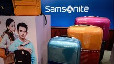 The world's biggest luggage maker reaches a takeover agreement with luxury rival Tumi in a $1.8bn (£1.3bn) deal.