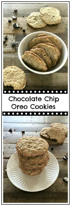 Chocolate Chip Oreo Cookies - Skinny Sweets Daily