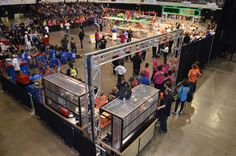 SUPER-PIT is a modular pit setup designed for use by FRC 973 in the FIRST Robotics Competition. This project focused on increasing the team's productivity in preparation and operation at...