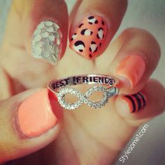 Love the nails & Love the ring ... What do you think ladies @Fran Buckingham & @Diana Frausto