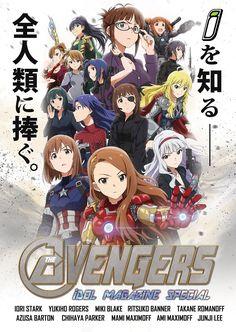 Idolmaster x Avengers, by たく(taku)