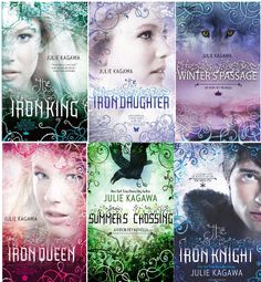 """Got hooked on these by one of Paul's students.  Fun reading, incorporates classic fairy tale characters like Oberon, Titania, Puck, Queen Mab, and folklore from many cultures - plus a new element called the """"Iron Fey""""  - fey born into reality out of the dreams  and imaginations of modern humans' craving for ever-advancing technology and engineering.  A pretty cool premise, and of course, there is a love triangle ;)"""