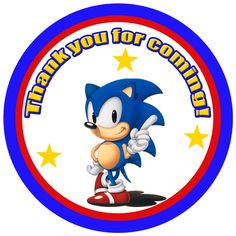 Sonic the Hedgehog Favor tags