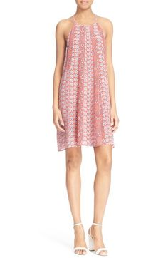 Free shipping and returns on Rebecca Taylor 'Amanda' Floral Print Silk Swing Dress at Nordstrom.com. Delicate, vintage-inspired floral prints alternate on this sweet swing dress made of luxurious silk for an ultrasoft feel and graceful movement.
