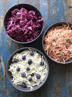 Wil je meer groenten eten? Dan zijn deze kleurrijke gezonde rauwkostsalades ideaal. Je kunt ze eenvoudig zelf maken. En rauwkost hoeft niet saai te zijn.