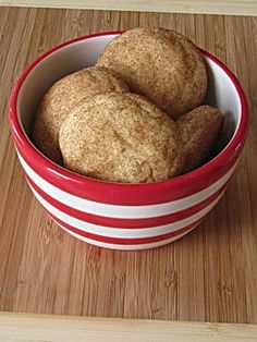 I just made them, and they are fluffy!!!! Snickerdoodle Cookies