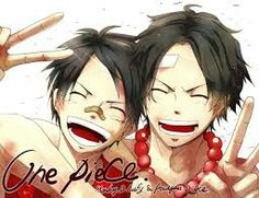 Luffy and Ace, the brother | One Piece