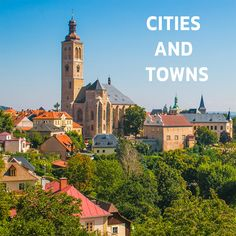 Amazing Places to Visit in Czechia. Fascinating Destinations and Sights. Heart Of Europe, Prague, Czech Republic, San Francisco Ferry, The Good Place, Cities, Wanderlust, Building, Amazing