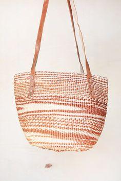 d05042b9a43e Africa basket brown kenya bag straw market bag straw tote straw beach bag  brown sisal bag Brown Straw bag woven basket bag woven straw bag