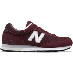 New Balance 515 Men's Sneakers ($70) ❤ liked on Polyvore featuring men's fashion, men's shoes, men's sneakers, med purple, mens lace up shoes, mens round toe dress shoes, mens shoes, new balance mens shoes and mens mesh shoes
