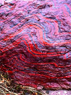 Iron formations  -- (Precambrian banded iron formations) near Negaunee, Michigan