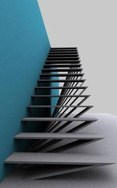 Staircase ideas - design and layout ideas to inspire your own staircase remodel . : Staircase ideas – design and layout ideas to inspire your own staircase remodel painted diy, decorating basement remodel pictures – moder staircase ideas Architecture Design, Stairs Architecture, Residential Architecture, Landscape Architecture, Landscape Design, Staircase Remodel, Staircase Ideas, Railing Ideas, Escalier Design