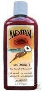 Dark Tanning Oil. 100% All Natural. No Chemicals, with Green Tea to reduce sunburn risk.